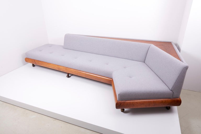 American Adrian Pearsall 'Boomerang' Sofa for Crafts Associates, US, 1960s For Sale