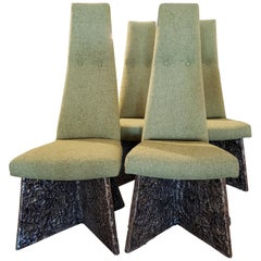 Adrian Pearsall Brutalist Dining Chairs