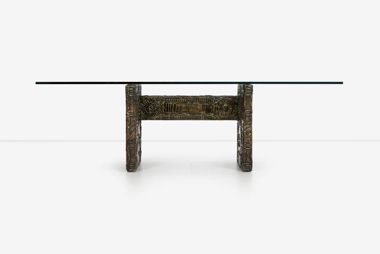 Mid-Century Modern Adrian Pearsall Brutalist Style Dining Table or Desk For Sale