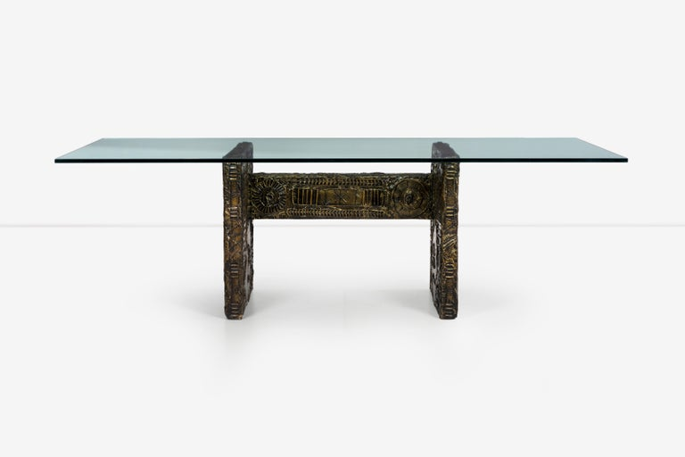 American Adrian Pearsall Brutalist Style Dining Table or Desk For Sale