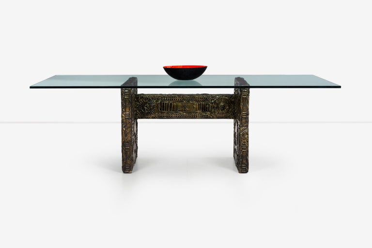 Adrian Pearsall Brutalist Style Dining Table or Desk In Good Condition For Sale In Chicago, IL