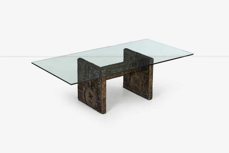 Resin Adrian Pearsall Brutalist Style Dining Table or Desk For Sale