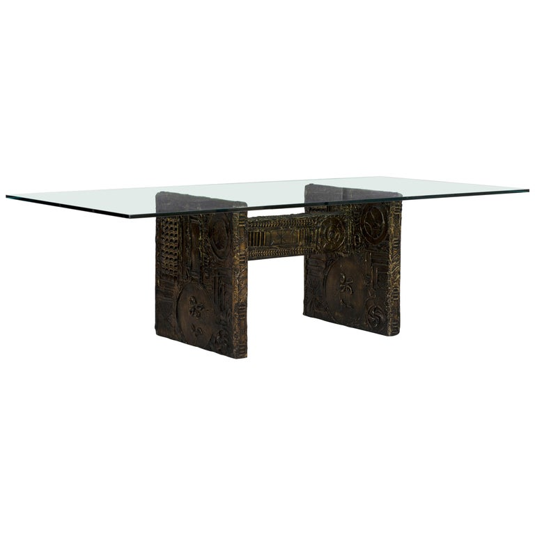 Adrian Pearsall Brutalist Style Dining Table or Desk For Sale