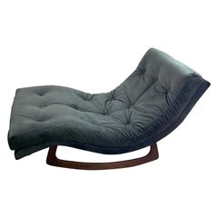 Adrian Pearsall Chaise Lounge Rocker