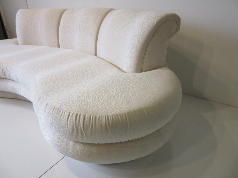 Modern Adrian Pearsall Cloud Sofa for Comfort Designs For Sale