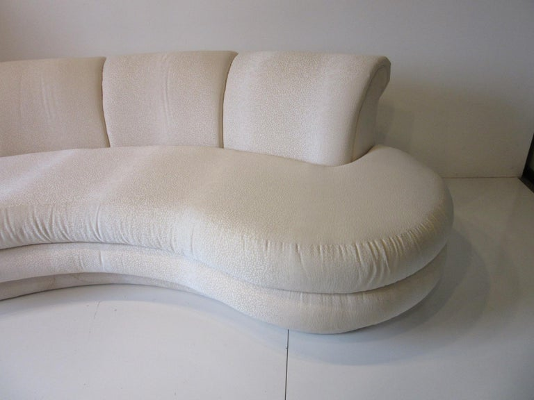 Adrian Pearsall Cloud Sofa for Comfort Designs In Good Condition For Sale In Cincinnati, OH
