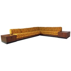 Adrian Pearsall Craft Associates Mid-Century Modern Sectional Sofa