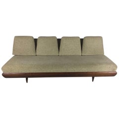 Adrian Pearsall for Craft Associates Walnut Sofa Model 1967-S