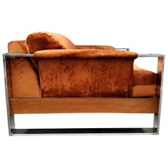 Adrian Pearsall Crafts Associates Chrome Lounge Chair