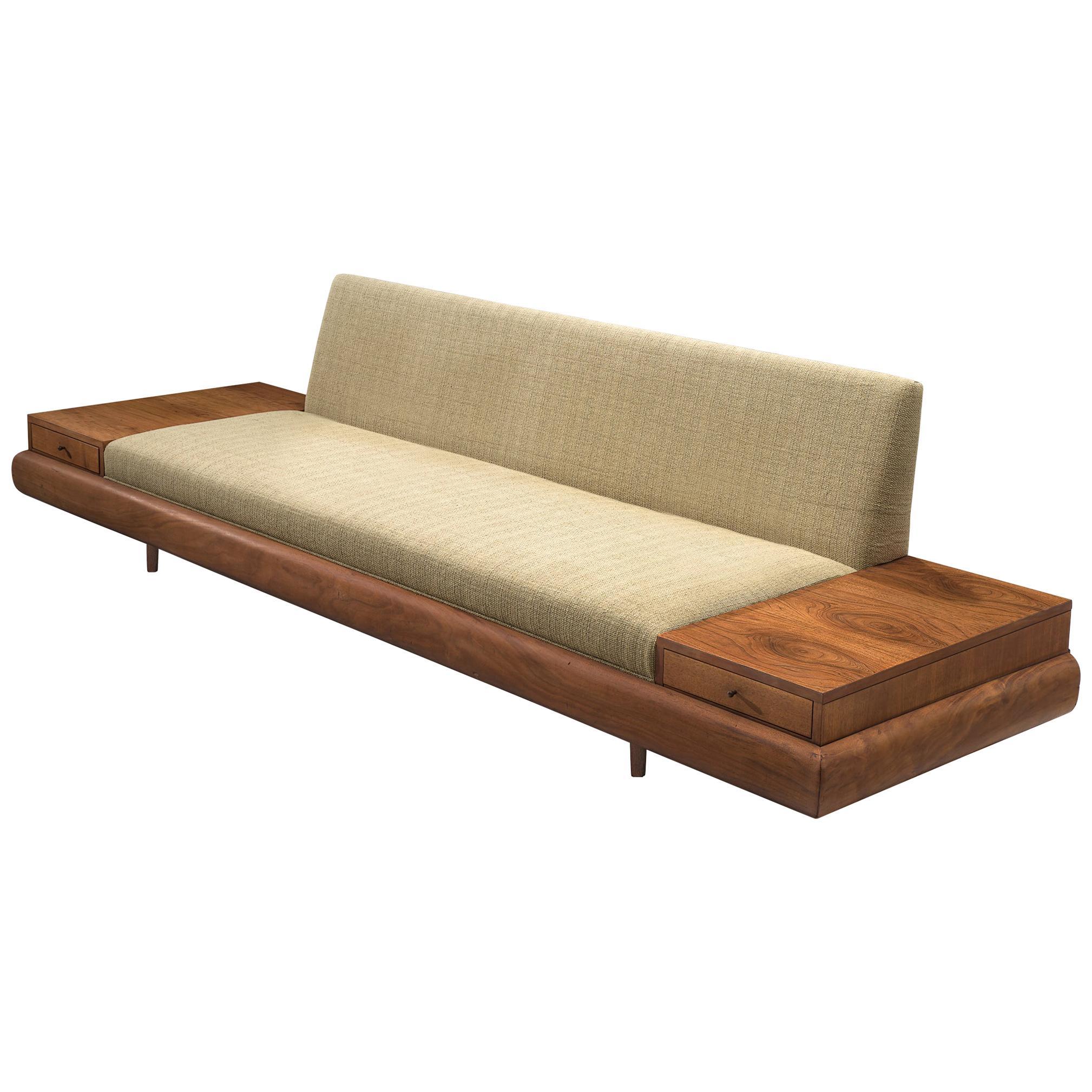 Strange Adrian Pearsall Customizable 1709 S Platform Sofa Andrewgaddart Wooden Chair Designs For Living Room Andrewgaddartcom