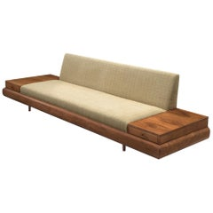Adrian Pearsall Customizable '1709-S' Platform Sofa