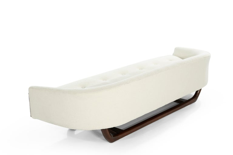 Adrian Pearsall Cloud Sofa in Bouclé, Model 2834-S, C. 1950s For Sale 5