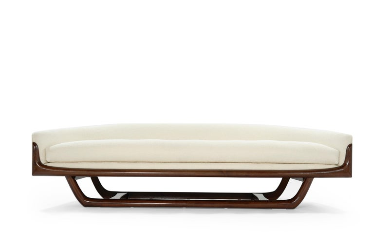 American Adrian Pearsall Cloud Sofa in Bouclé, Model 2834-S, C. 1950s For Sale