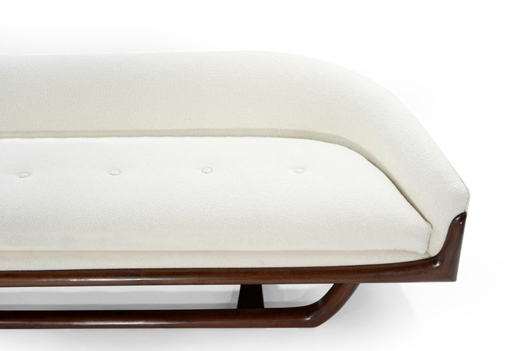 Adrian Pearsall Cloud Sofa in Bouclé, Model 2834-S, C. 1950s For Sale 2