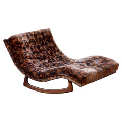 Adrian Pearsall for Craft Associates Double Wide Rocking Chaise, 1960s, Signed