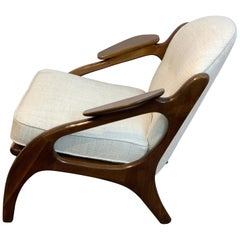 Adrian Pearsall for Craft Associates Lounge Chair #2249-C, Restored
