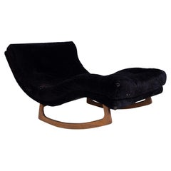 Adrian Pearsall for Craft Associates Mid Century Wave Rocking Chaise