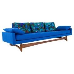 Adrian Pearsall for Craft Associates Model 2408 MCM Sleigh Leg Gondola Sofa