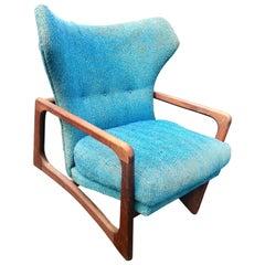 Adrian Pearsall for Craft Associates Model 2466-C Lounge Original Fabric