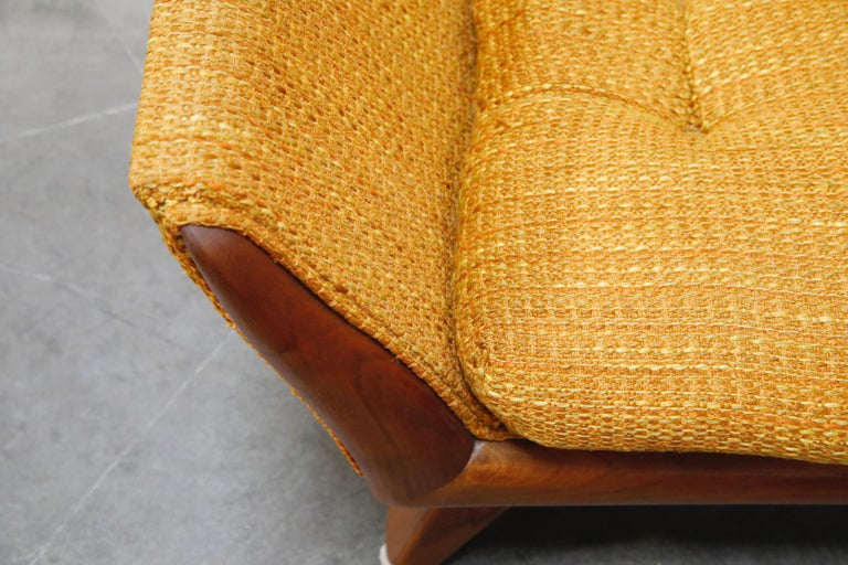 Adrian Pearsall for Craft Associates Sculpted Lounge Chair, circa 1960s, Signed For Sale 3