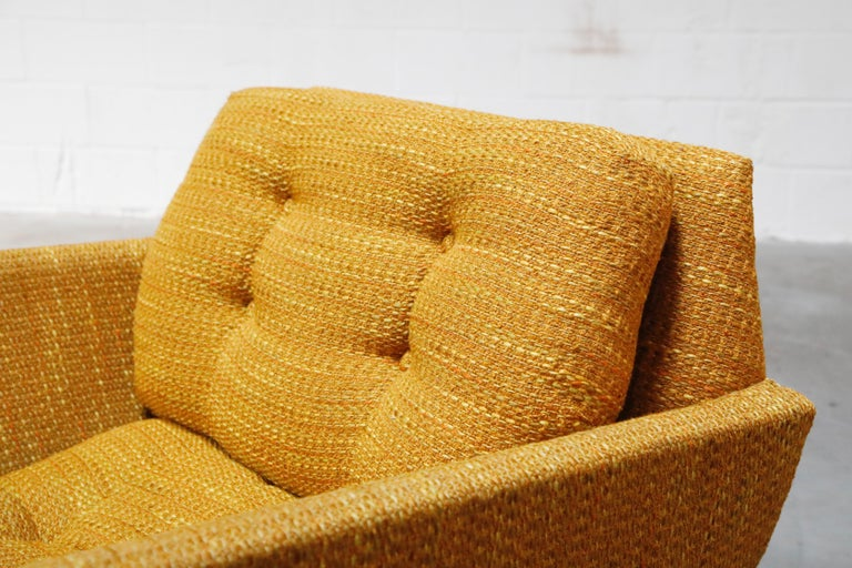 Adrian Pearsall for Craft Associates Sculpted Lounge Chair, circa 1960s, Signed For Sale 4