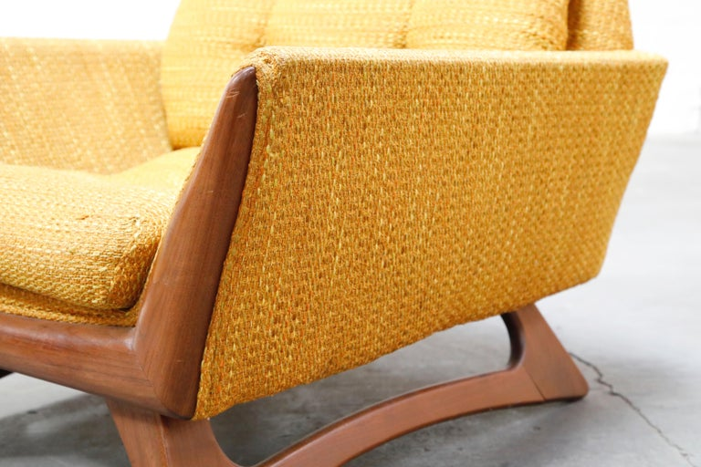 Adrian Pearsall for Craft Associates Sculpted Lounge Chair, circa 1960s, Signed For Sale 5