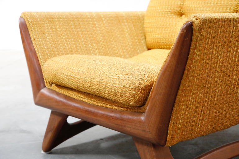 Adrian Pearsall for Craft Associates Sculpted Lounge Chair, circa 1960s, Signed For Sale 6