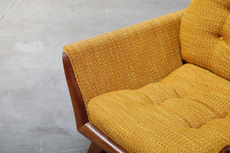 Adrian Pearsall for Craft Associates Sculpted Lounge Chair, circa 1960s, Signed For Sale 8