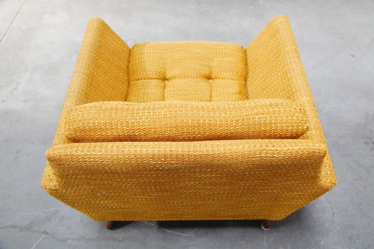 Adrian Pearsall for Craft Associates Sculpted Lounge Chair, circa 1960s, Signed For Sale 11