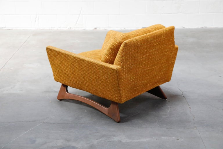 Mid-20th Century Adrian Pearsall for Craft Associates Sculpted Lounge Chair, circa 1960s, Signed For Sale