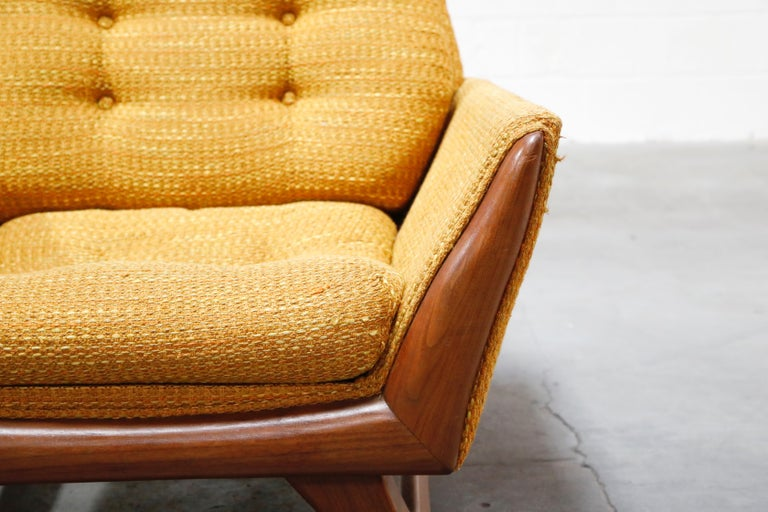 Adrian Pearsall for Craft Associates Sculpted Lounge Chair, circa 1960s, Signed For Sale 1