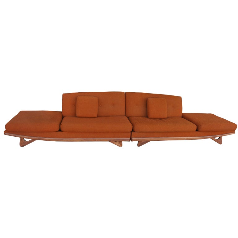 Mid-20th Century Adrian Pearsall For Craft Associates Sectional Sofa  For Sale