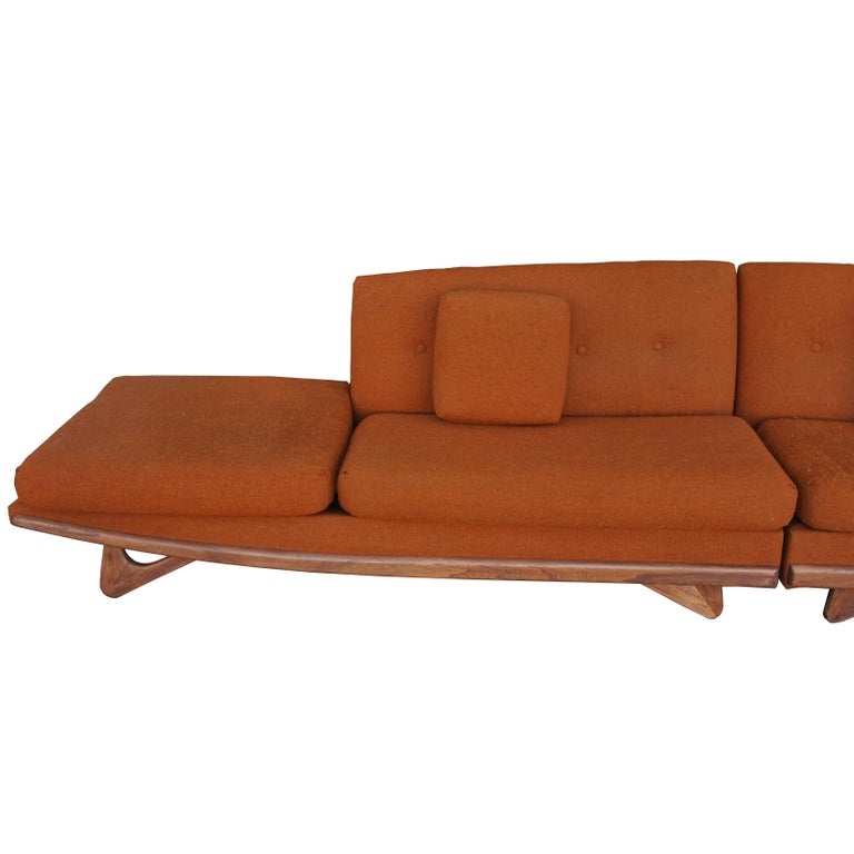 Adrian Pearsall For Craft Associates Sectional Sofa  For Sale 1