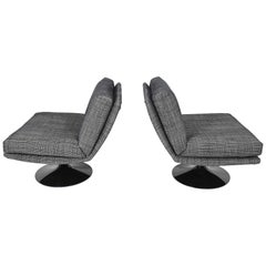 Adrian Pearsall for Craft Associates Swivel Chairs