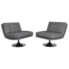 Adrian Pearsall for Craft Associates Swivel Lounge Chairs