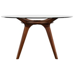 Adrian Pearsall for Craft Associates Walnut Dining Table, 1960s