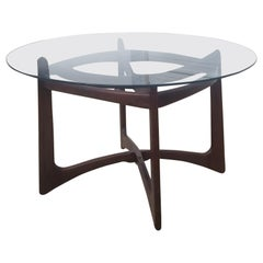 Adrian Pearsall for Craft Associates Walnut Dining Table