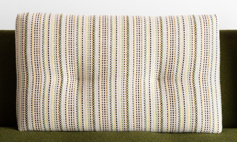 Wool Adrian Pearsall Gondola Sofa, circa 1960 For Sale