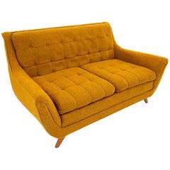 Adrian Pearsall Gondola Style Norwalk Furniture Midcentury Loveseat
