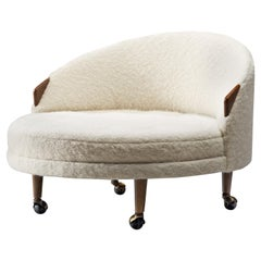 Adrian Pearsall Havana Lounge Chair in Pierre Frey Wool