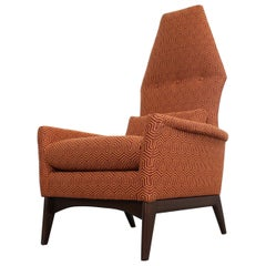 "Adrian Pearsall High Back Lounge/ Accent  Chair Crypton ""Mambo Jive"""