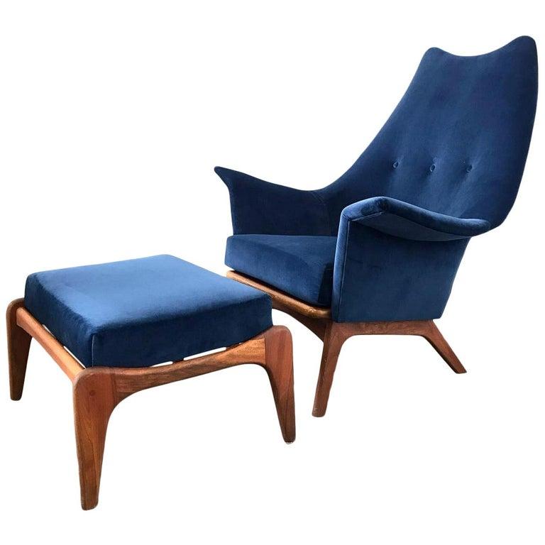 Fabulous Adrian Pearsall High Back Lounge Chair Camellatalisay Diy Chair Ideas Camellatalisaycom