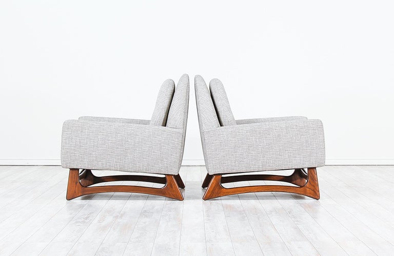 Mid-Century Modern Adrian Pearsall Lounge Chairs for Craft Associates For Sale