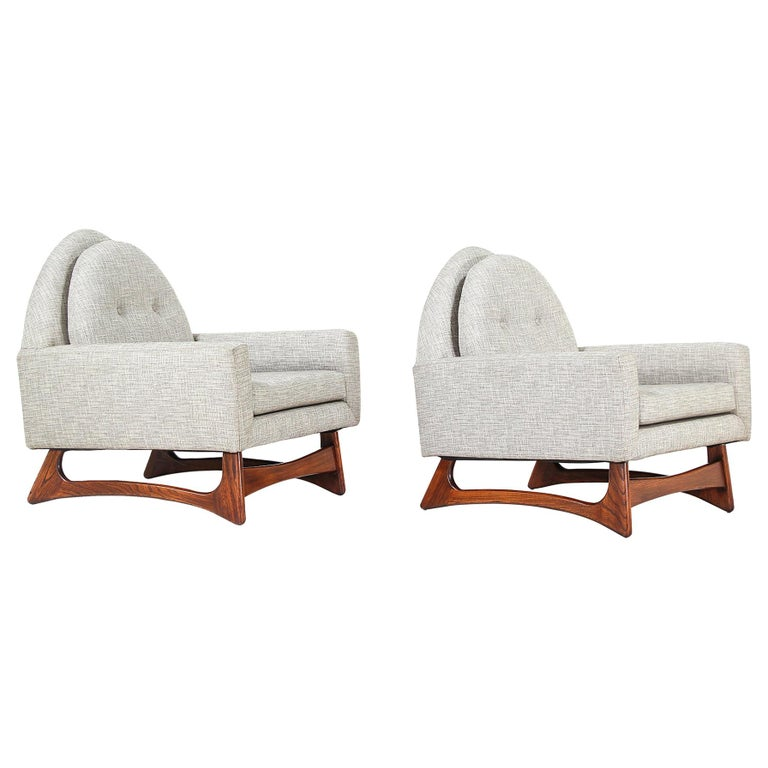 Adrian Pearsall Lounge Chairs for Craft Associates For Sale