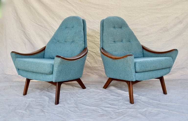 North American Adrian Pearsall Lounge Chairs For Sale
