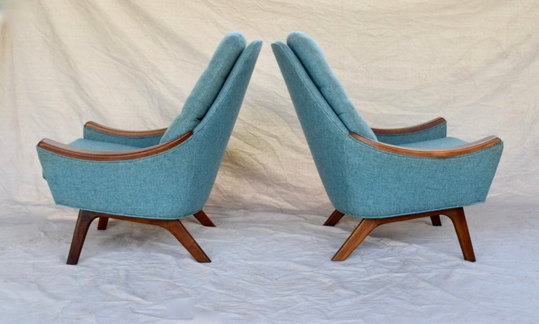 Adrian Pearsall Lounge Chairs In Good Condition For Sale In Southampton, NJ