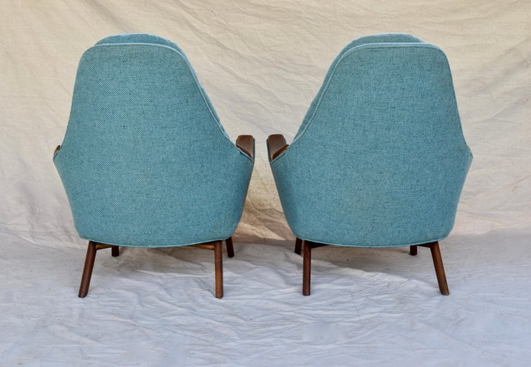 Upholstery Adrian Pearsall Lounge Chairs For Sale