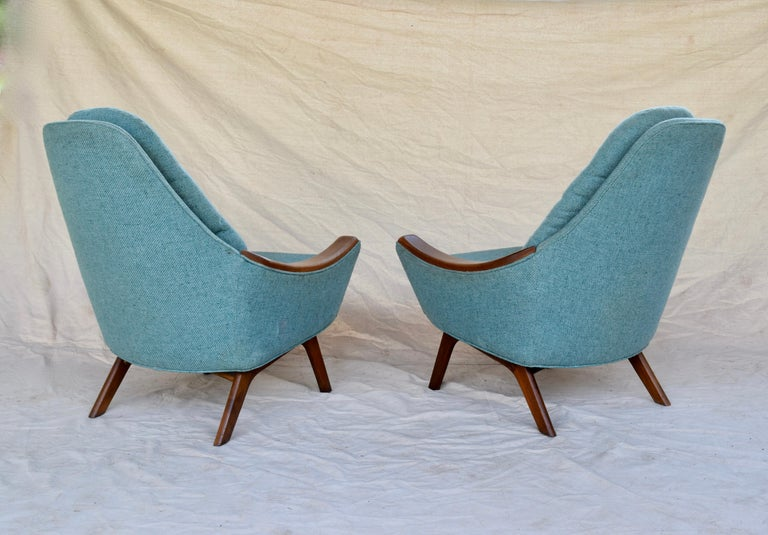 Adrian Pearsall Lounge Chairs For Sale 1