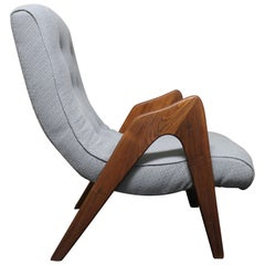Adrian Pearsall Mid-Century Modern Lounge Chair for Craft Associates