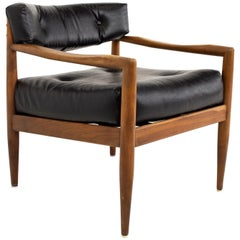 Adrian Pearsall Midcentury Walnut Occasional Lounge Chair